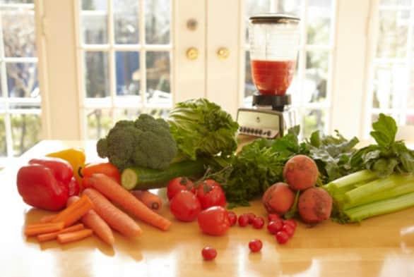 centrifugati di verdure