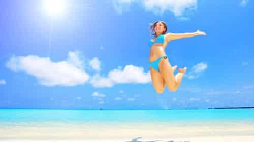 preparare la pelle al sole con dieta e centrifugati