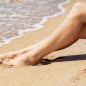 Sgonfiare le gambe con rimedi naturali