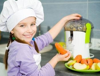 Centrifugati di frutta per bambinicome merenda