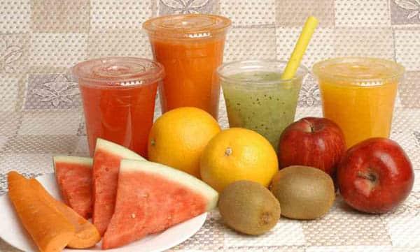 succhi di frutta fatti in casa ricette