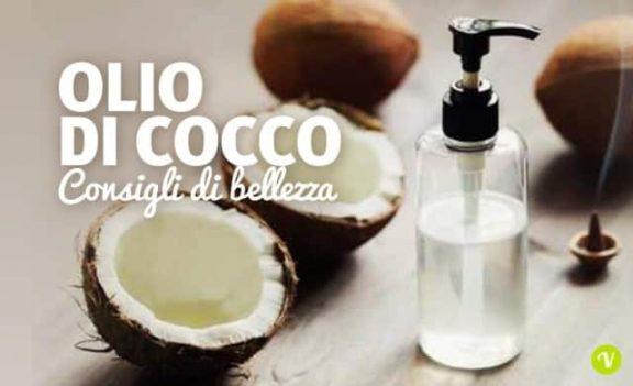 Olio di cocco per maschere e scrub fatti in casa
