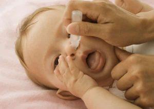 lavaggio nasale neonato