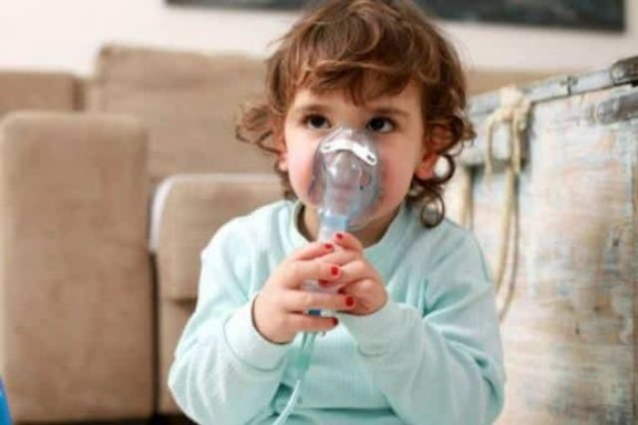 tosse secca bambini aerosol