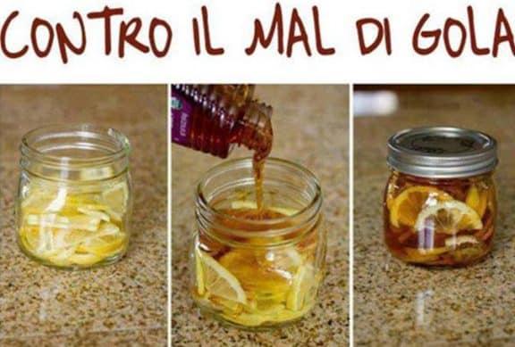 Miele e limone contro il mal di gola