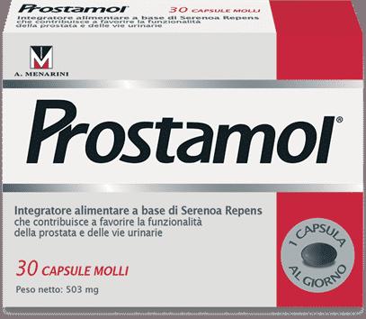 Prostamol per la cura della prostata