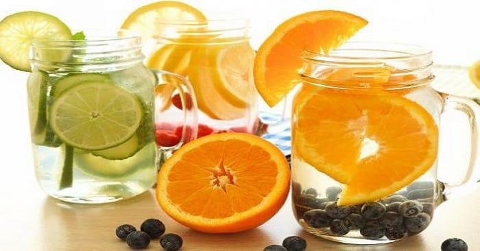 Acqua Detox ricette e preparazione
