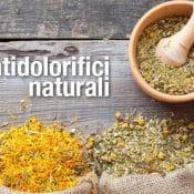 Antidolorifici naturali e rimedi per alleviare il dolore
