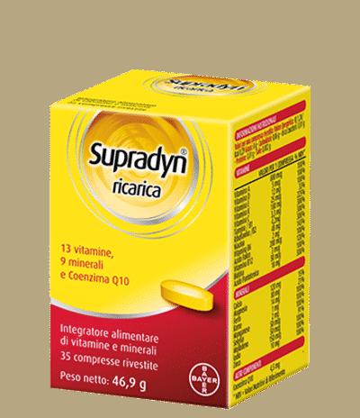 Supradyn Ricarica: come assumerlo e quali sono pro e contro
