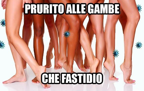 Prurito alle gambe