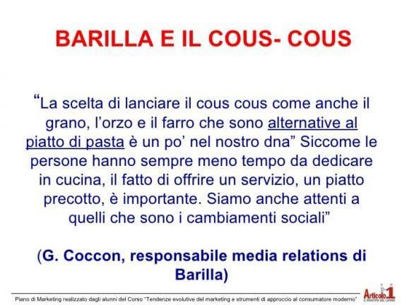 Cous cous Barilla