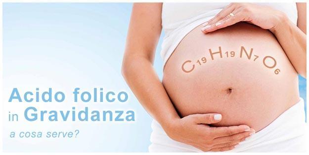 Acido folico basso in gravidanza