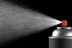 Spray ritardanti