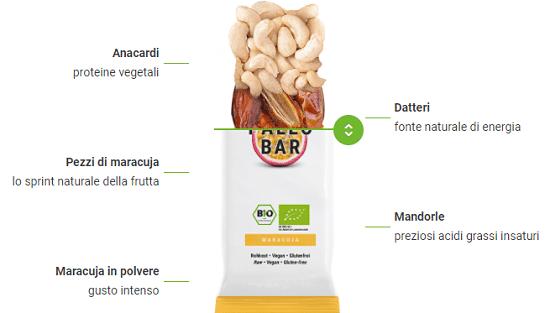Barrette Paleo energetiche Foodspring