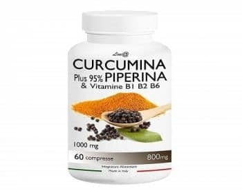 Curcumina e Piperina capsule
