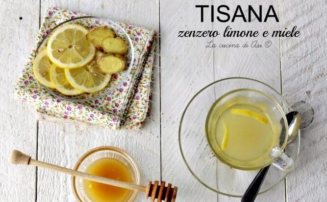 Zenzero, limone e miele