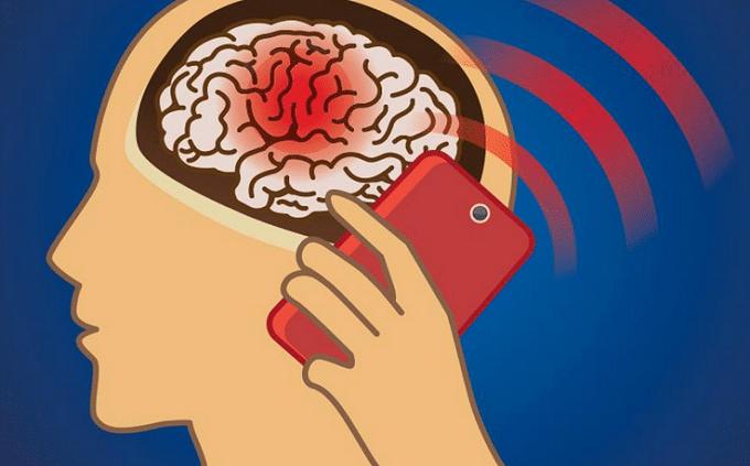 Radiazioni smartphone cancro