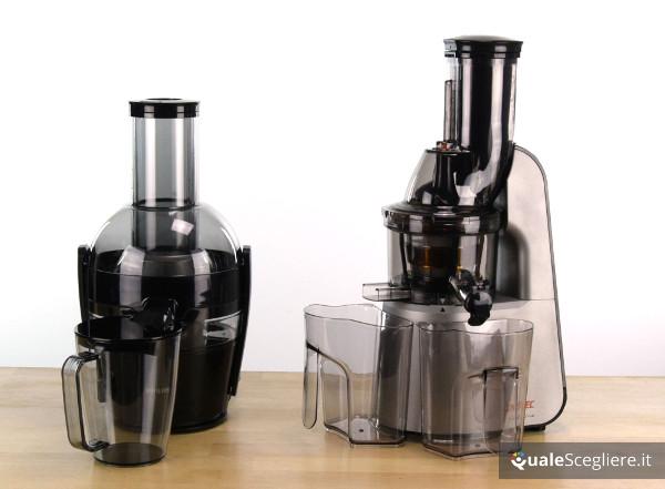 Differenza tra estrattore e centrifuga