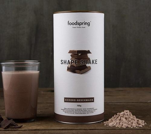 Shape Shake al cioccolato